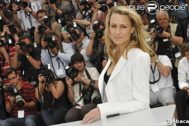 Robin Wright lors du photocall du Festival de Cannes