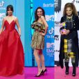 Camila Cabello, Lindsay Lohan et Janet Jackson aux MTV Europe Music Awards 2018 au Bilbao Exhibition Centre. Bilbao, le 4 novembre 2018.