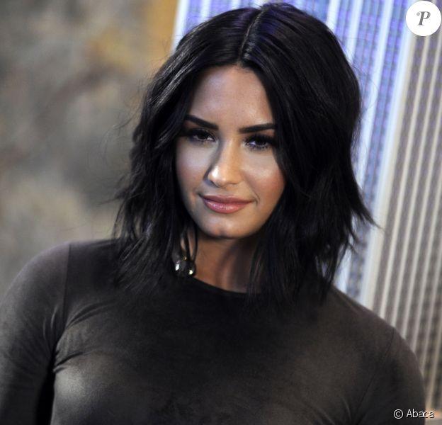 Demi Lovato à New York en mars 2017.