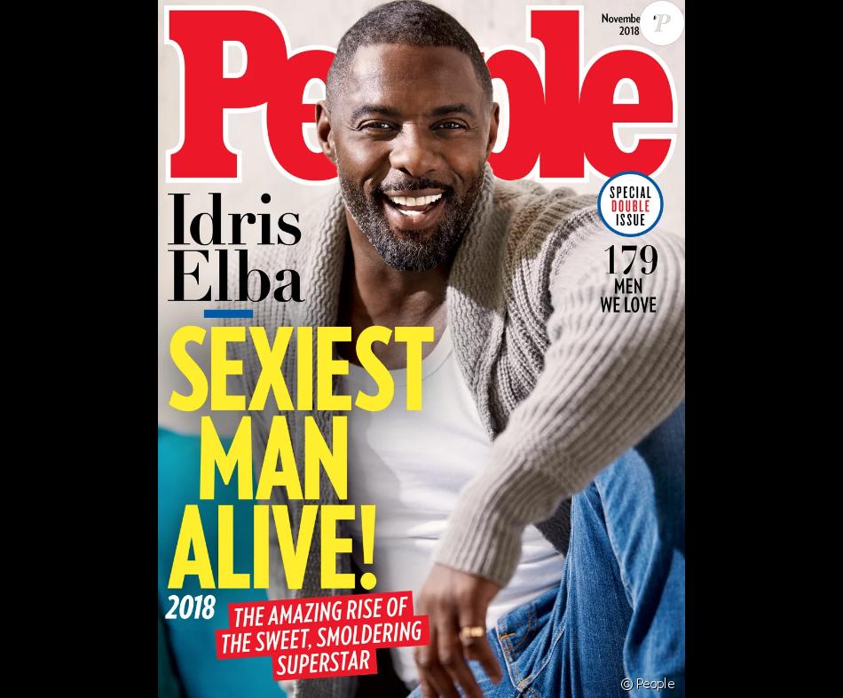 Idris Elba: Elu l'homme le plus sexy de cette année 2018