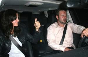 Courteney Cox : une soirée en amoureux avec son mari... puisque sa copine Jennifer l'a plantée !