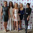 Les Spice Girls à la présentation de la comédie musicale Viva Forever ! à Londres, le 26 juin 2012
