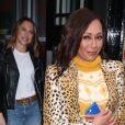 Mel B (Melanie Brown) - Les Spice Girls quittent leur hôtel et se rendent sur les studios de la BBC Radio 2 à Londres le 7 novembre 2018.