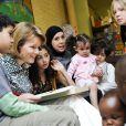 La princesse Mathilde de Belgique découvre l'action des deux projets lauréats de son institution caritative...