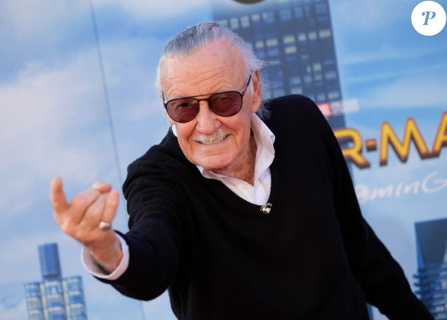 Stan Lee à la première de 'Spider-Man: Homecoming au théâtre Chinois à Hollywood, le 28 juin 2017 © Chris Delmas/Bestimage