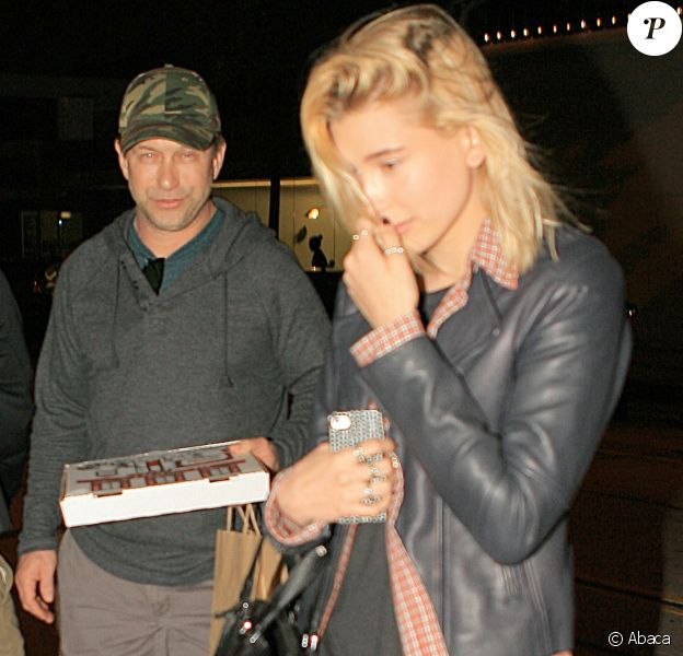 Stephen Baldwin et sa fille Hailey arrivent au restaurant Craig's West Hollywood, le 23 mars 2014