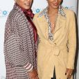 Jada Pinkett Smith et sa mère Adrienne Banfield-Jones à la soirée The Moms Marketplace à New York, le 23 octobre 2018