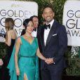 Will Smith et sa femme Jada Pinkett Smith - La 73ème cérémonie annuelle des Golden Globe Awards à Beverly Hills, le 10 janvier 2016.