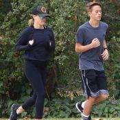 Reese Witherspoon : Moment sportif avec son beau gosse de fils