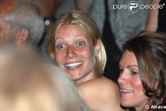 Gwyneth Paltrow au concert de son mari