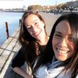 """Clémentine et Lucie, prétendantes d'Émeric dans """"L'amour est dans le pré 2018"""" se sont retrouvés à Bordeaux à la fin du mois de novembre 2018."""