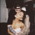 Pete Davidson et Ariana Grande. Juin 2018.