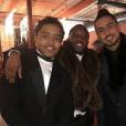 Les fils de Diddy, Justin (à gauche) et Quincy (à droite) - Enterrement de Kim Porter à Evergreen, dans le Colorado. Le 24 novembre 2018.