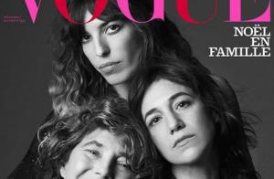 Lou Doillon et Charlotte Gainsbourg : Sublimes autour de Jane Birkin pour Vogue