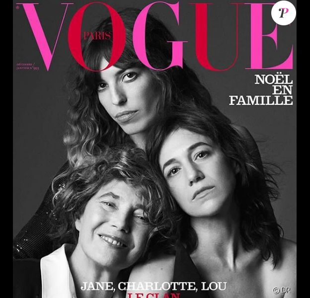 "Couverture du magazine ""Vogue Paris"" en kiosque le 6 décembre 2018."