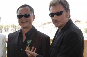 Johnny Hallyday, Laetitia et Johnnie To : une  superbe soirée, un invité surprise... et une consécration à Cannes !