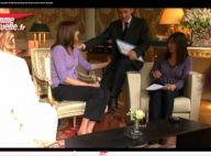 """Quand Carla Bruni pelote les fesses de Nicolas Sarkozy, et lui adresse un """"Bon courage chouchou"""" ! Regardez !"""