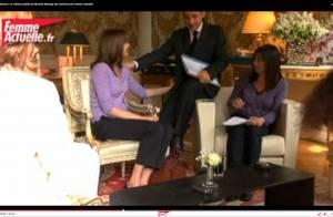 Quand Carla Bruni pelote les fesses de Nicolas Sarkozy, et lui adresse un