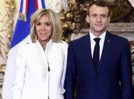 Brigitte Macron à la pointe du chic en blanc, complice avec la primera dama