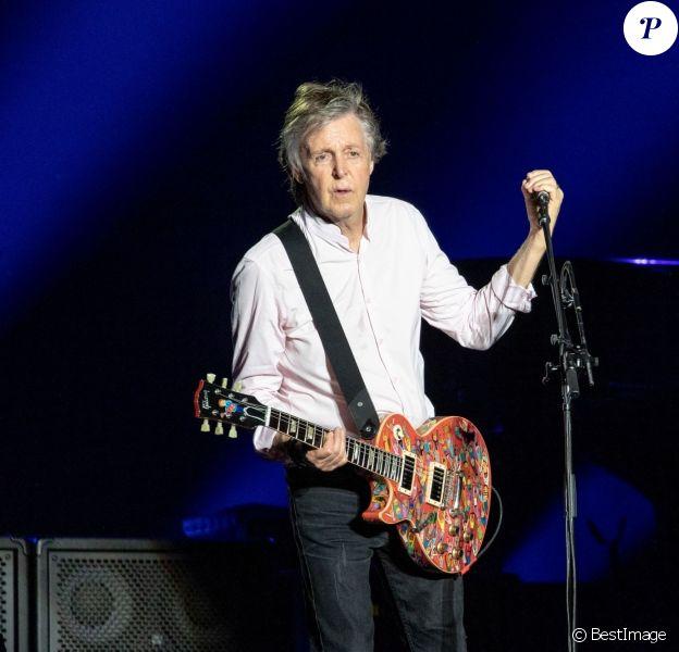 """Paul McCartney - """"The Austin City Limits Music Festival"""" à Austin. Le 5 octobre 2018"""
