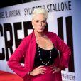 """Brigitte Nielsen à l'avant-première de """"Creed II"""" au BFI Imax Waterloo à Londres, le 28 novembre 2018."""