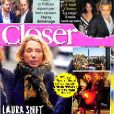 "Couverture du magazine ""Closer"" en kiosque le 30 novembre 2018"