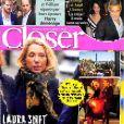"""Couverture du magazine """"Closer"""" en kiosque le 30 novembre 2018"""