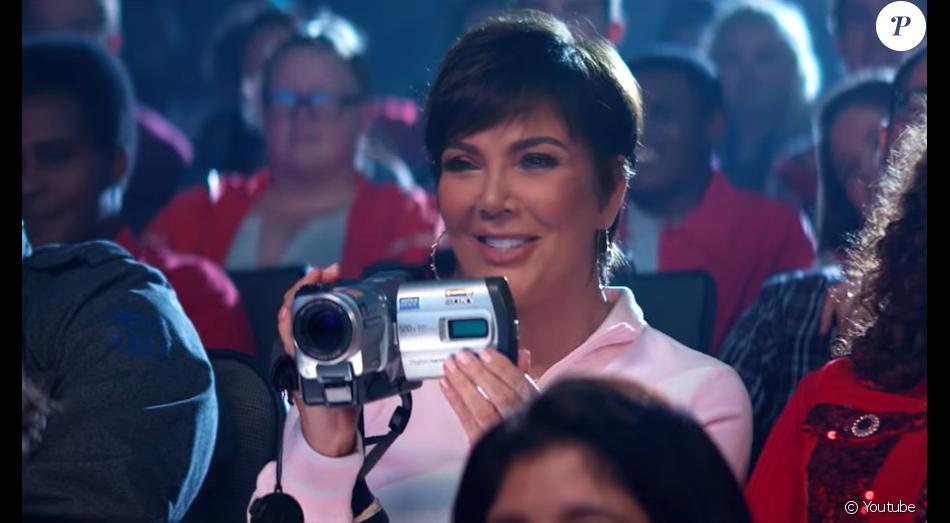 "Kris Jenner dans le clip d'Ariana Grande ""Thank u, next"", sorti le 30 novembre 2018"