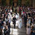 Meghan Markle (duchesse de Sussex) a épousé le prince Harry en la chapelle Saint-George de Windsor le 19 mai 2018. Avait-elle demandé - en vain - de faire vaporiser du désodorisant dans l'église parce qu'elle sentait le renfermé, comme cela a été rapporté par des sources royales bien placées en novembre de la même année ?