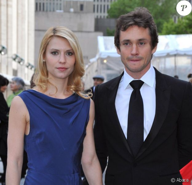 Claire Danes et son futur mari Hugh Dancy à la soirée du MET hier soir