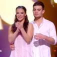 """Clément Rémiens grand gagnant de """"Danse avec les stars 9"""" sur TF1, le 1er décembre 2018. Ici avec Denitsa."""