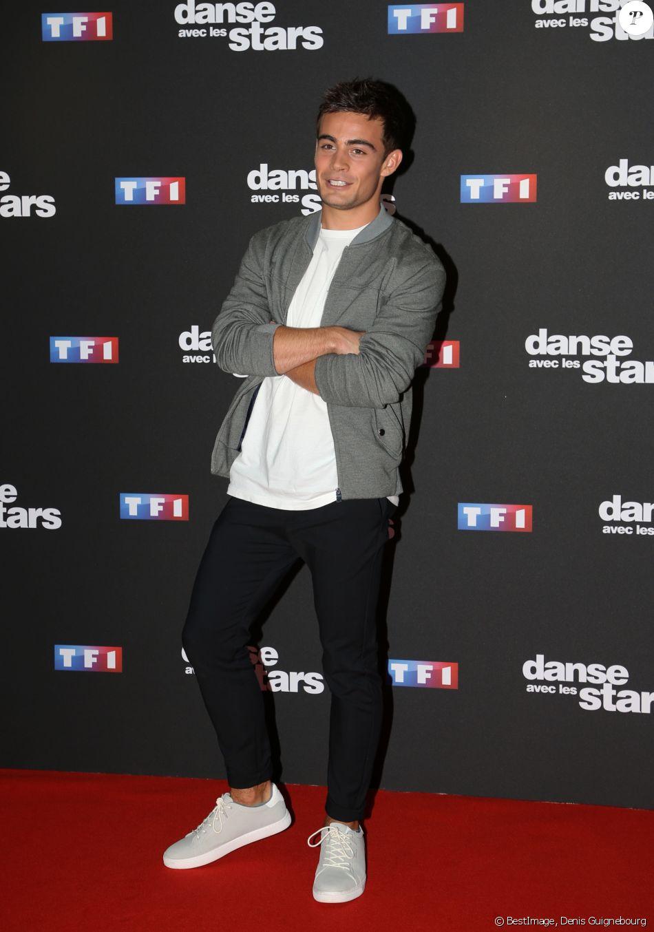 """Clément Remiens - Photocall de la saison 9 de l'émission """"Danse avec les stars"""" (DALS) au siège de TF1 à Boulogne-Billancourt le 11 septembre 2018. © Denis Guignebourg/Bestimage"""