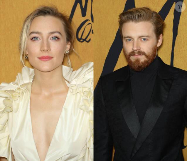 """Saoirse Ronan et Jack Lowden à la première du film """"Mary Stuart, reine d'Ecosse"""" à New York le 4 décembre 2018."""
