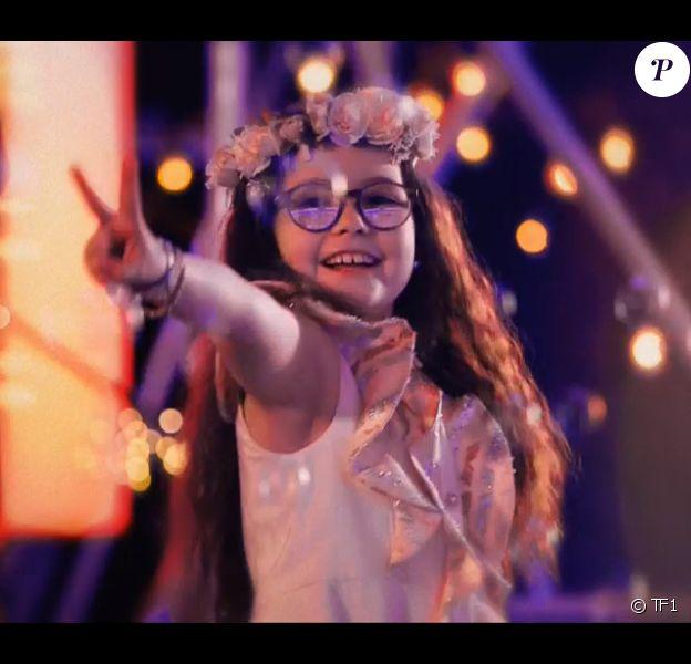 """Emma, Talent de Jenifer - finale de """"The Voice Kids 5"""", TF1, 7 décembre 2018"""