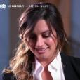 """Laetitia Milot émue en évoquant le regretté Michel Galabru dans """"50 min inside"""", TF1, 8 décembre 2018"""
