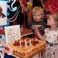 Gabriella et Jacques de Monaco ont fêté leurs 4 ans au palais princier le 9 décembre 2018. Photo publiée sur Instagram par Charlene de Monaco le 10 décembre 2018.