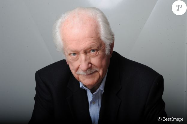Portrait de Pierre Bellemare en 2015.