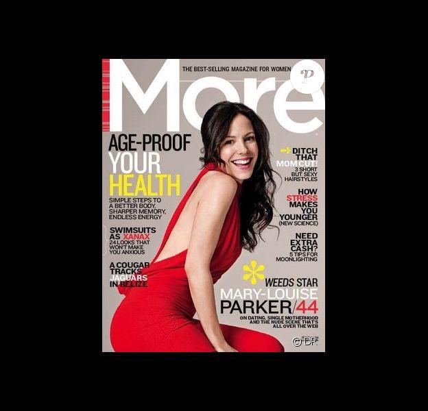 Mary-Louise Parker en couverture de More