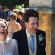 Felicity Jones et le réalisateur Charles Guard se sont mariés au château Sudeley, en Angleterre, le 30 juin 2018. Le couple se fréquentait depuis près de trois ans.