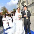 La duchesse Sophie de Wurtemberg a épousé le comte Maximilien d'Andigné le 20 octobre 2018 en Allemagne.