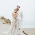 """L'actrice de """"Twilight"""" Ashley Greene et le présentateur australien Paul Khoury se sont mariés le 6 juillet 2018 à San Jose, en Californie."""
