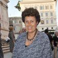 Anna Fendi à la soirée Bulgari hier soir à Rome