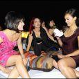 Selma Blair, Jessica Alba et Patricia Field à la soirée Bulgari à Rome hier soir
