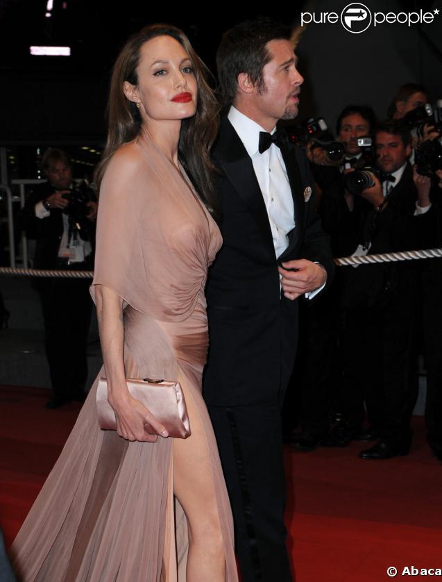 Brad Pitt et Angelina Jolie à Cannes