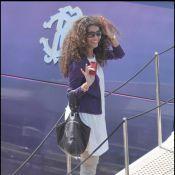 Afef Jnifen : une sublime L'Oréal Girl bronze sur le yacht de Roberto Cavalli !