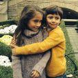 Emme et Max, les jumeaux de Jennifer Lopez et son ex-mari Marc Anthony. Mai 2018.
