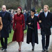 """Meghan Markle et Kate Middleton complices : Les """"Fab Four"""" réunis pour Noël"""