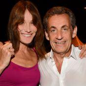 "Carla Bruni fond pour la ""petite barbe"" de Nicolas Sarkozy"
