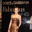 Alice Dellal, une véritable tigresse à la soirée Dolce & Gabbana