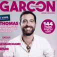 """Magazine """"Garçon"""" en kiosques le 31 décembre 2018."""